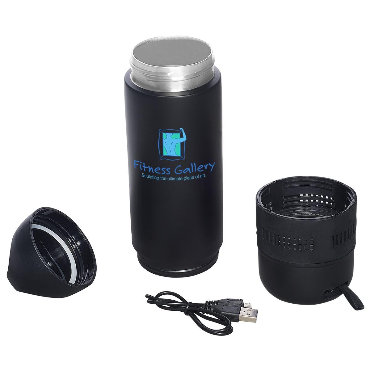 13 Oz. Freedom Bluetooth® Speaker Vacuum Water Bottle