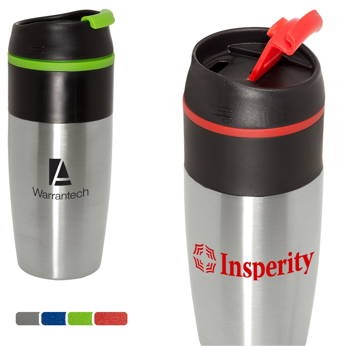 15 Oz. Easy-Sip Stainless Tumbler