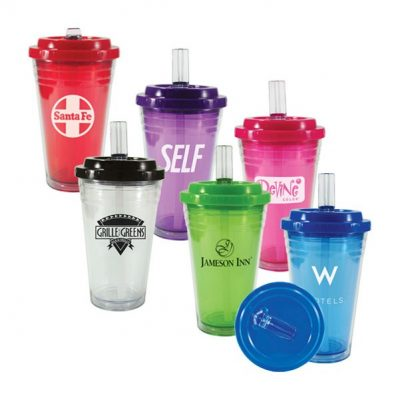 18 Oz. Flip Top Freedom Tumbler