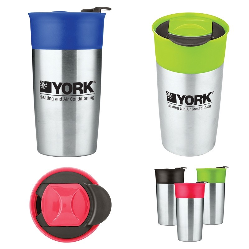 18 Oz. Two Tone Double Wall Insulated Tumbler