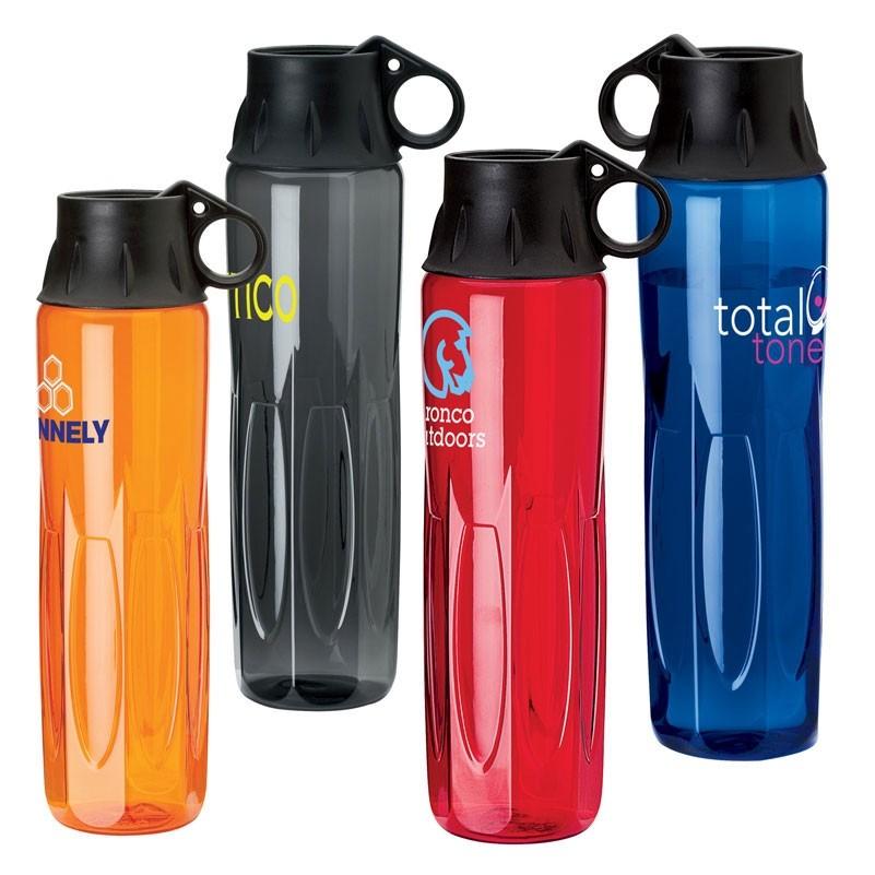 24 oz. Tritan Water Bottle w/ Screw Off Lid