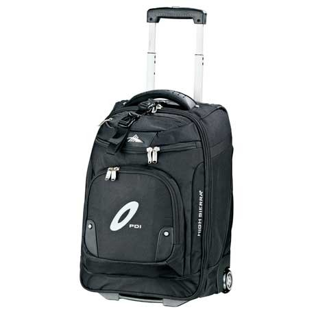 """High Sierra® 21"""" Wheeled Carry-On Computer Upright"""