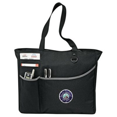 Metropolis Zippered Meeting Tote