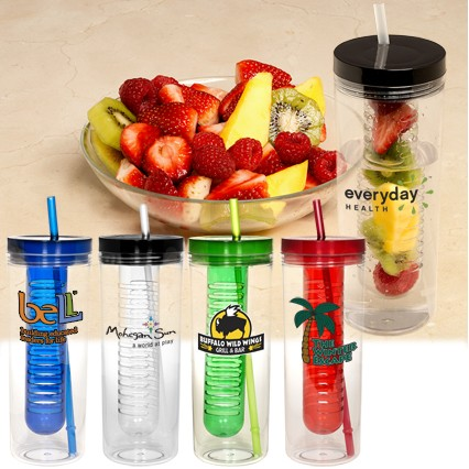 Thirstinator 20 Oz. Sipper Tumbler w/Infuser