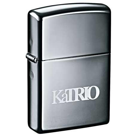 Zippo® Windproof Lighter Black Ice