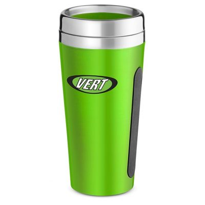 Dual-Grip Travel Tumbler - 15 Oz.