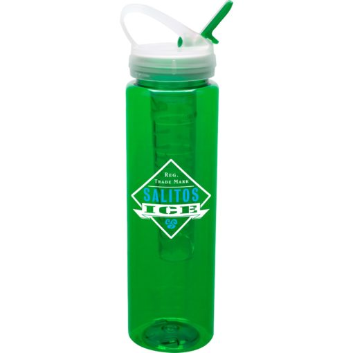 32 oz Bottle w/ Ice Stick