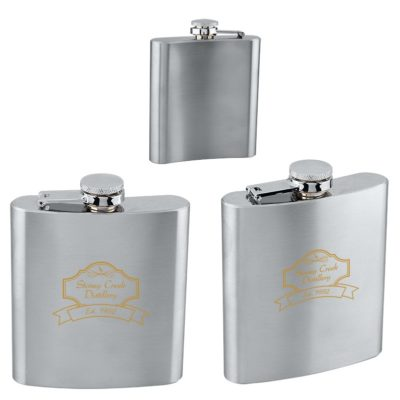 6 oz. Stainless Steel Flask