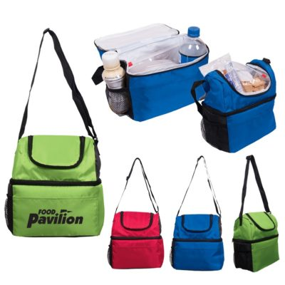 Duo Compartment Lunch Pail Bag