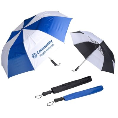 "Vented Auto Open Golf Umbrella (58"")"