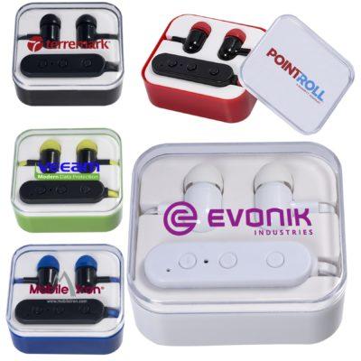 Wireless Bluetooth® Earbuds in Case