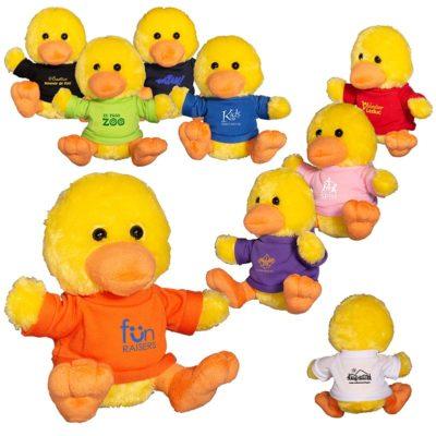 "7"" Plush Duck Stuffed Animal"