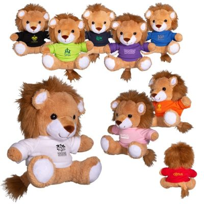 "7"" Plush Lion Stuffed Animal"