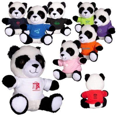 """7"""" Plush Panda Stuffed Animal"""