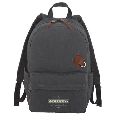 "Alternative® Basic 15"" Cotton Computer Backpack"