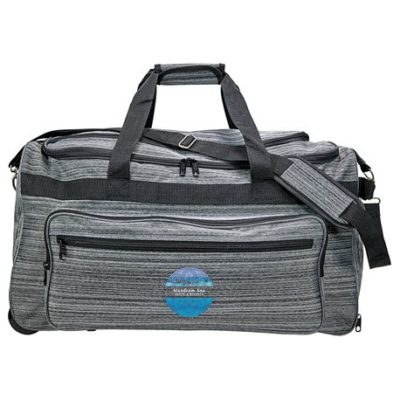Heathered Rolling Duffel