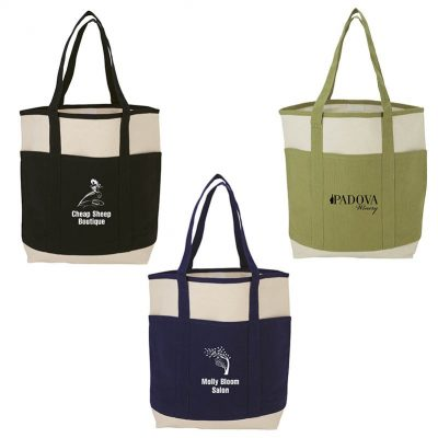 Myrtle Natural Canvas Tote