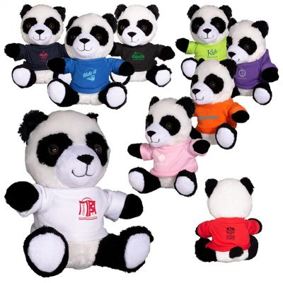 "7"" Plush Panda Stuffed Animal"