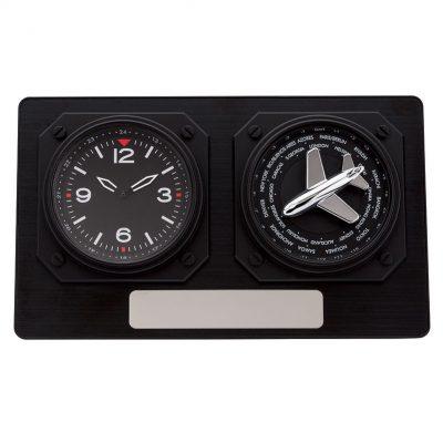 Anita World Time Desk Clock