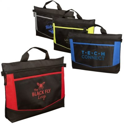 Go-Fer Lightweight Polyester Briefcase