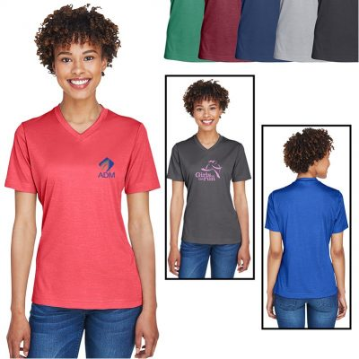 Team 365® Ladies' Sonic Heather Performance T-Shirt
