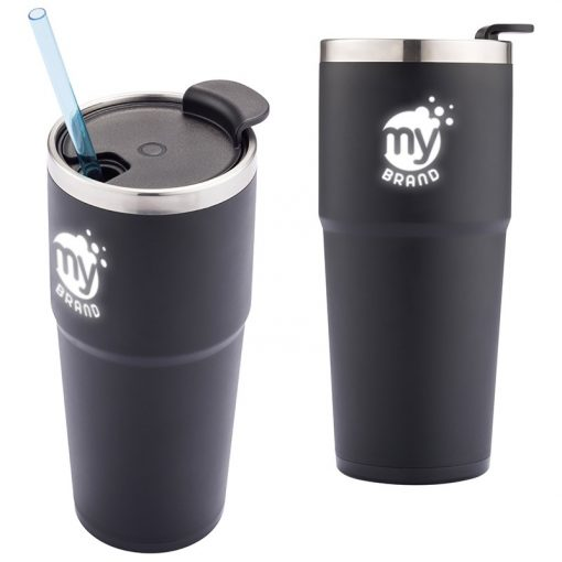 16 Oz. Light-Up-Your-Logo Double-Wall Tumbler