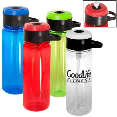 24 Oz. Tritan™ Bottle w/Hook