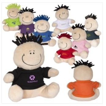 "7"" MopToppers® Plush w/T-Shirt"