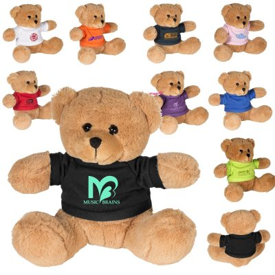 "7"" Plush Bear w/T-Shirt"