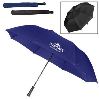 "Large Auto Open Folding Umbrella (55"")"