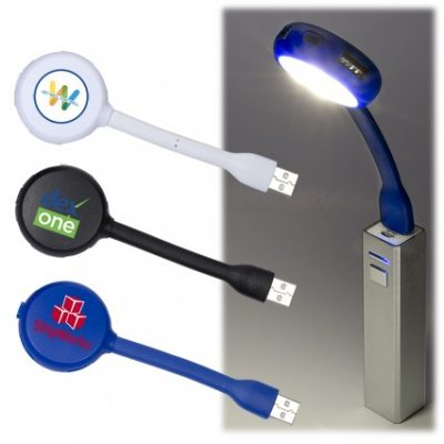 USB Flex Light 4 Port USB Hub