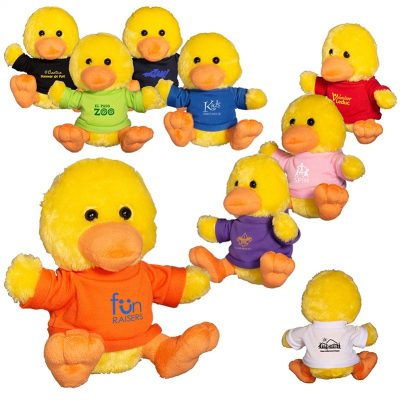 "7"" Plush Duck w/T-Shirt"