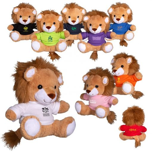 "7"" Plush Lion w/T-Shirt"