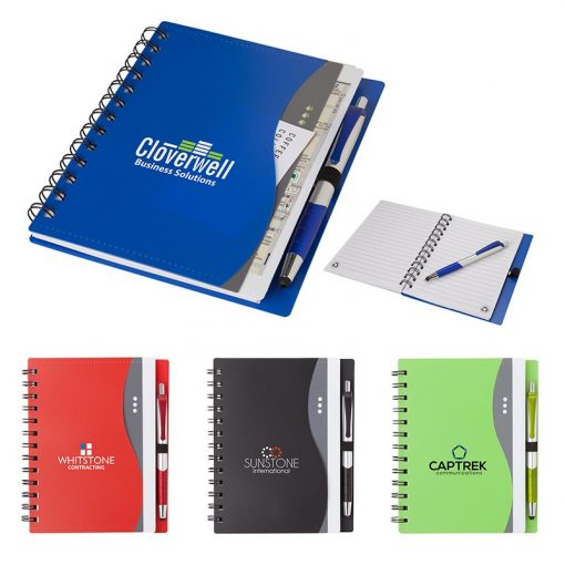 Bellevue Junior Notebook w/Stylus Pen
