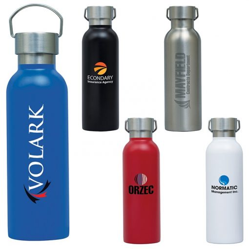 Ria 28 oz. Single Wall Stainless Steel Bottle