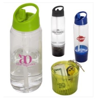 20 Oz. Water Bottle w/Detachable Cup