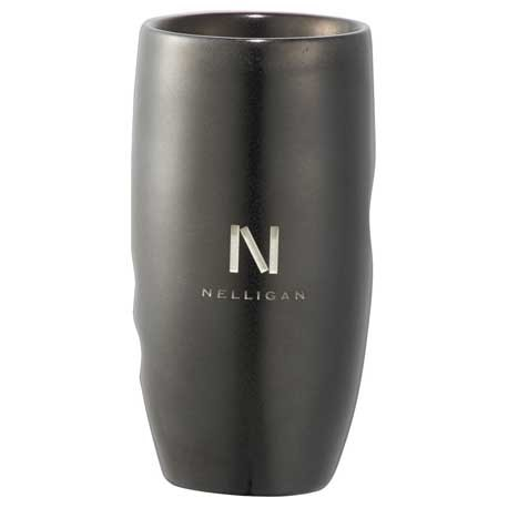 Hand Grip Double-Wall Ceramic Tumbler 12oz