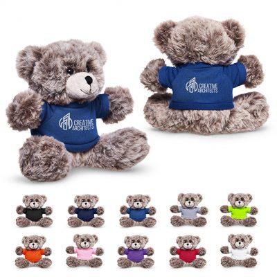 """7"""" Soft Plush Bear w/T-Shirt"""