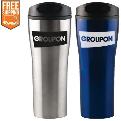 18 oz Prelude Stainless Travel Tumbler - Free FedEx Ground Shipping