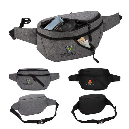 Ontario Two-Pocket Crossbody/Waist Bag