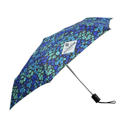 Fashion Print Auto Open & Close Compact Umbrella