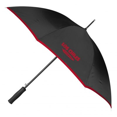 Color Edge Auto Open Stick Umbrella
