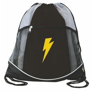 Double Take Drawstring Bag