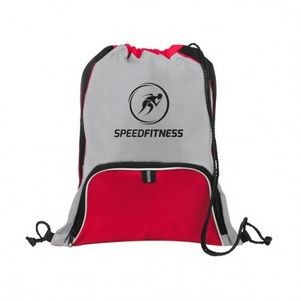 Mesh Accent Pocket Sport Pack Bag