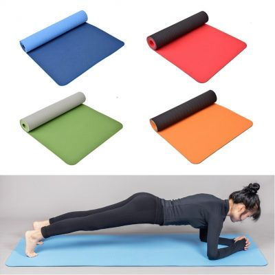 Two-Tone Yoga Mat