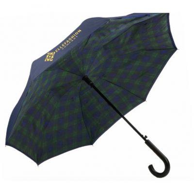 Unbelievabrella™ Crook Handle Auto Open Fashion Print Umbrella