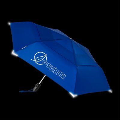 WALKSAFE® Vented Auto Open Compact Umbrella