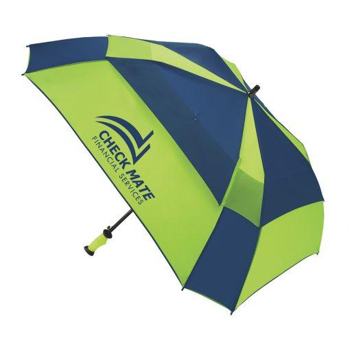 WINDPRO® Vented Auto Open Square Golf Umbrella