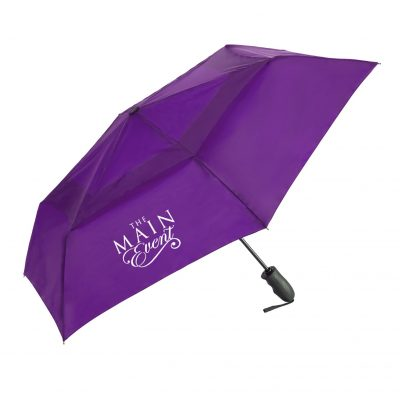 Windjammer® Vented Auto Open & Close Compact Umbrella