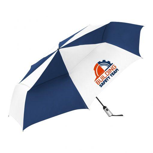Windjammer® Vented Auto Open & Close Jumbo Compact Umbrella